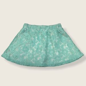 🌺 PIPER Lace Skirt With Built-In Shorts